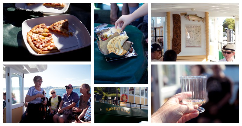 Wining and dining on the Ernest Kemp